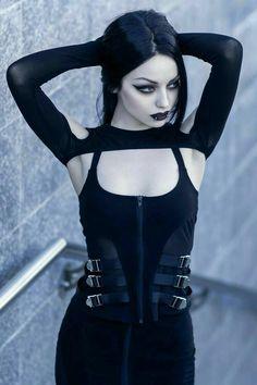 Gothic Girls, Hot Goth Girls, Punk Girls, Goth Beauty, Dark Beauty, Steam Punk, Cosplay, Darya Goncharova, Gothic Models