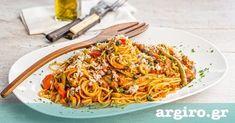 Μακαρόνια με τόνο και κόκκινη σάλτσα από την Αργυρώ Μπαρμπαρίγου | Θρεπτική μακαρονάδα με σάλτσα τόνου, ελαφριά και πεντανόστνόστιμη. Φτιάξτε την όλοι!