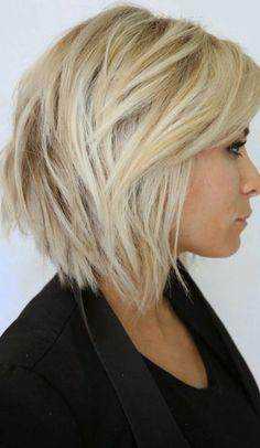 Haircut Styles Medium Short Updo - 23 short layered haircuts ideas for women - popular haircuts 2015 Hairstyles, Medium Hairstyles, Layered Hairstyles, Messy Hairstyles, Wedge Hairstyles, Hairstyle Ideas, Wedding Hairstyles, Ladies Hairstyles, Beehive Hairstyle