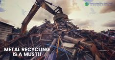 Are you aware of the importance of scrap metals recycling? The metals can be recycled again and again without losing their properties. Nowadays only of metals are recycled and used.