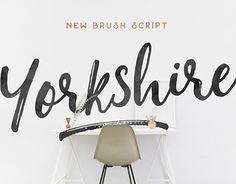 "Check out new work on my @Behance portfolio: ""Yorkshire Brush Script"" http://be.net/gallery/33784336/Yorkshire-Brush-Script"