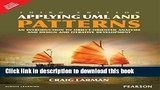 Download Applying Uml Patterns: An Introduction To Object -Oriented Analysis Design And Iterative