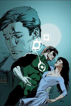 Hal Jordan & Carol Ferris<3