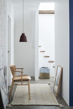Nendo's Chair Combines Japanese and Danish Design for Fritz Hansen - Design Milk Danish Interior Design, Japanese Interior Design, Danish Design, Scandinavian Design, Scandinavian Interiors, White Interiors, Nordic Design, Living Furniture, Furniture Decor