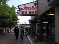 This is Ivars.  Ivars has some of the BEST clam chowder I've ever had.