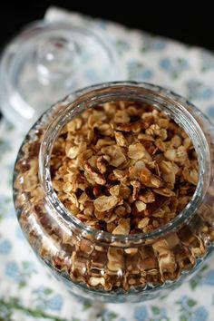 Honey Nut Cocoa Crunch Granola | AggiesKitchen.com  #granola #breakfast #recipe