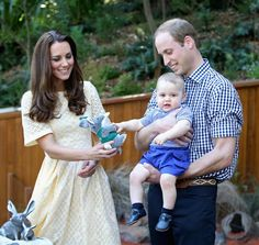 Cute Prince George and Prince William Pictures | POPSUGAR Celebrity#photo-34626327#photo-34626327