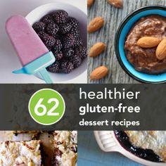 healthy gluten free dessert recipes