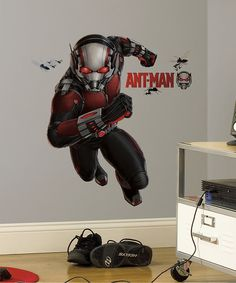 Look at this Marvel Ant-Man Giant Decal on #zulily today!