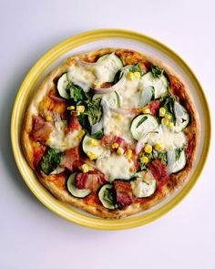 Pizza for today's lunch 😍. The recipe is from 's website. It's his naan bread recipe. Recipes With Naan Bread, Vegetable Pizza, Lunch, Website, Vegetables, Instagram, Food, Eat Lunch, Essen
