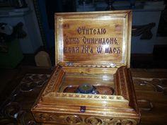 Reliquary of St. Spyridon in our Temple St.Vladimir Grand Duke Vladimir s.Nadezhino Nizhny Novgorod region in Russia!