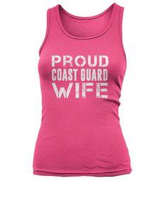 Proud Coast Guard Wife Women's Tank Top