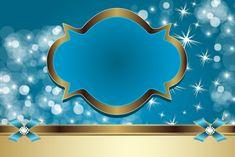Kit para Festas - Azul e Dourado
