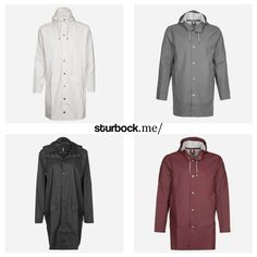 Die Modelle von Stutterheim und Rains lassen euch garantiert nicht im Regen stehen. Hier entdecken und shoppen: http://sturbock.me/fyl