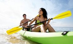 Groupon - Half-Day Single or Double Kayak Rental at Salty Sam's Waterfront Adventures (Up to 50% Off) in Fort Myers Beach. Groupon deal price: $17