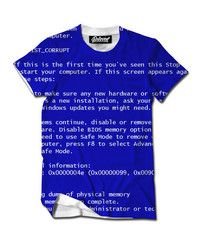 Beloved Shirts presents the Blue Screen of Death Men's Tee