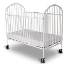 Foundations Next Gen Evacuation Portable Crib With Mattress