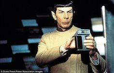 Mr Spock's 'Tricorder' (pictured in a screenshot from Star Trek) is fast becoming fact rather than science fiction, and as soon as next year could allow people to diagnose illnesses in a matter of minutes