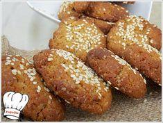 ΑΝΑΡΠΑΣΤΑ ΜΠΙΣΚΟΤΑ ΜΕ ΤΑΧΙΝΙ ΝΗΣΤΙΣΙΜΑ!!! - Νόστιμες συνταγές της Γωγώς! Pretzel Bites, Food And Drink, Bread, Cookies, Recipes, Crack Crackers, Brot, Biscuits, Recipies