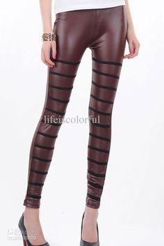 Wholesale Tight Pants - Buy Brown Trendy Fashion Tight Pants Leggings for Women 79220 Retail $19.07 | DHgate