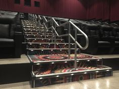 Warfel Construction - Movies at Midway | Silver Pipe Railing