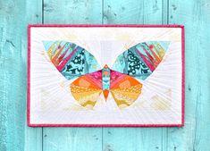 Nehmen Sie Flügel Paper Piecing Muster  von lillyellastitchery