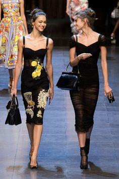 Zhenya Katava and Taylor Hill for Dolce   Gabbana 0e24b4c38c