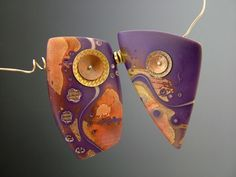handmade jewelry from polymer clay