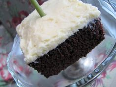 Sew Many Ways...: The Best Chocolate Cake and Frosting Recipe...and a Party