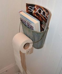 Handmade Cedar Wood Outhouse Toilet Tissue Pape HoldeR //STAR