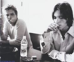 "Ewan McGregor and Jonathan Rhys Meyers. ""Velvet Goldmine"""