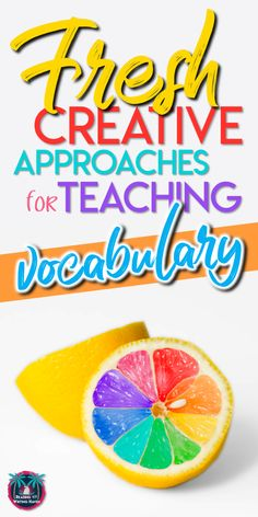 Fresh teaching approaches, strategies, and activities for helping students learn and retain new vocabulary words longer in middle and high school classrooms TeachingVocabulary HighSchoolELA 308285536993050140 New Vocabulary Words, Vocabulary Instruction, Vocabulary Activities, Listening Activities, Spelling Activities, How To Teach Vocabulary, Flashcard Games, English Activities, Therapy Activities