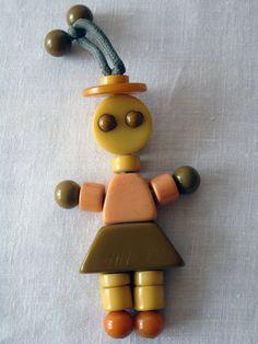 Bakelite Baby Toy