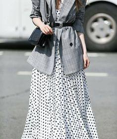 blazer over dress