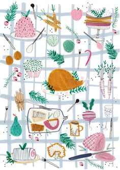 Christmas editorial for a food magazine!