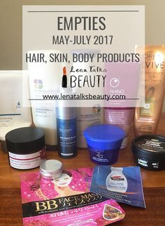 May, June, and July empties - bumper edition! And July, Changing Jobs, Product Review, Empty, Posts, Blog, Hair, Messages, Blogging