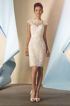 Wedding gown by Alfred Angelo (Style 2428).