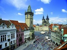 Piazza della Città Vecchia -Praga