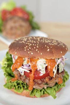 Buffalo Turkey Burger #GetTheDish