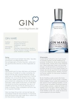 Gin Mare Western Dry Gin / Gin Review
