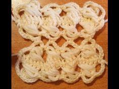 Uncinetto a forcella: bordi e unione strisce- tutorial crochet - YouTube