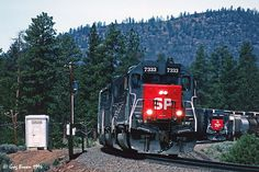 Yes, there were once two clean SP units on the Black Butte Sub at the same time. | by C.P. Kirkie