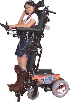 Standing wheelchairs! Repinned by SOS Inc. Resources.  Follow all our boards at http://Pinterest.com/sostherapy for therapy resources.