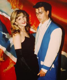 I feel in love with Johnny Depp the day I saw Cry Baby.