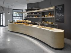 Cafe in Prague Proves Minimalist Interiors Can Be Playful - http://freshome.com/cafe-prague-minimialist-interiors-playful/