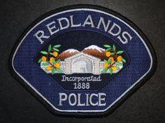 Redlands PD Calif