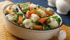 Dusená zelenina Crock Pot Vegetables, Veggies, Crockpot Recipes, Healthy Recipes, Easy Recipes, Cooking Tips, Cooking Recipes, Vegetable Medley, Vegan V