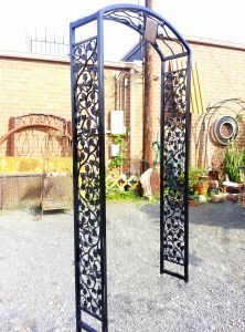 Really Big Metal Country French Garden Arbor Gate Wrought