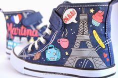 Esencia Custome: Zapatillas personalizadas - Custom sneakers Paris