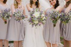 Dustin & Rochelle's rustic New Haven beach wedding by Daphne and Dean #rusticwedding #lavenderwedding #beachwedding